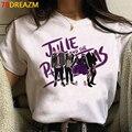 2020 Горячая Джули и фантов принтовые тройники, женские, принт с героями мультфильмов Kawaii, закат кривой футболка смешной Топ в стиле хип-хоп фу...