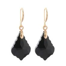 Drop Crystal Earring Glass Earrings for woman charm Dangle Brinco Christmas Ear Accessories Oorbellen цена в Москве и Питере