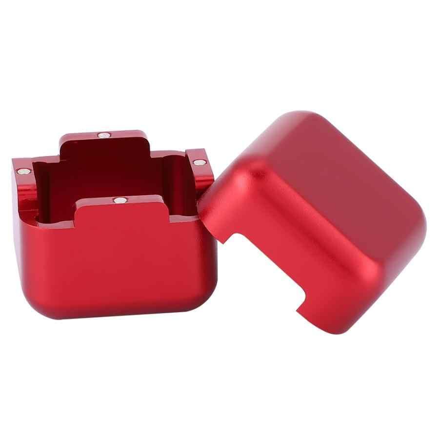 Chalk Holder Metal Portable Mini Cue Tip Billiard Pool Chalks Carrier Case for Billiard Cue Billiard Accessory