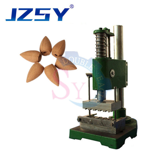 Comercial manual de imprensa colorido cone backflow torre incenso que faz a máquina/mão imprensa agilawood backflow incenso máquina