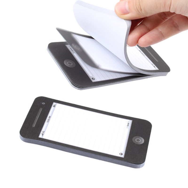 Sticky Notes Mobile Phone Shape Memo Pad Notepad School Stationery Supplies Gifts JHP-Best