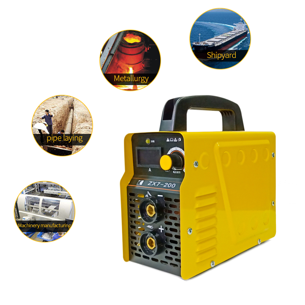 New 220V 15-120A Handheld Mini MMA IGBT Inverter Mini Electric <font><b>ARC</b></font> Welding Welder-Machine Tool image