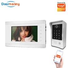 Умная Система видеодомофона doorвидеоняня 960p для дома квартиры