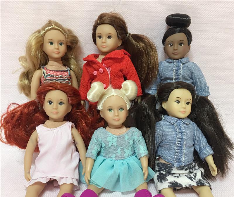 237.24грн. 20% СКИДКА|Случайная отправка 1 шт мини 15 см кукла милая девочка (некоторые дефекты)|Куклы| |  - AliExpress