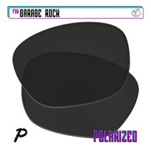 EZReplace Polarized Replacement Lenses for - Oakley Garage Rock Sunglasses - Black P