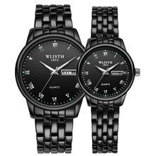 WLISTH 2020 Luxury Brand Lover Watch Women Waterproof Couple