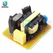 AC-DC 12V to 220V 35W Step UP Boost Module Power Supply Module Board Dual Channel Inverter Converter maitech 03100637 20w dc 12v to ac 220v step up transformer inverter power boost module green