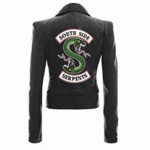 Новые продукты ривердейл змей кожаная куртка ривердейл Американский сериал Женская куртка Амазон горячая распродажа