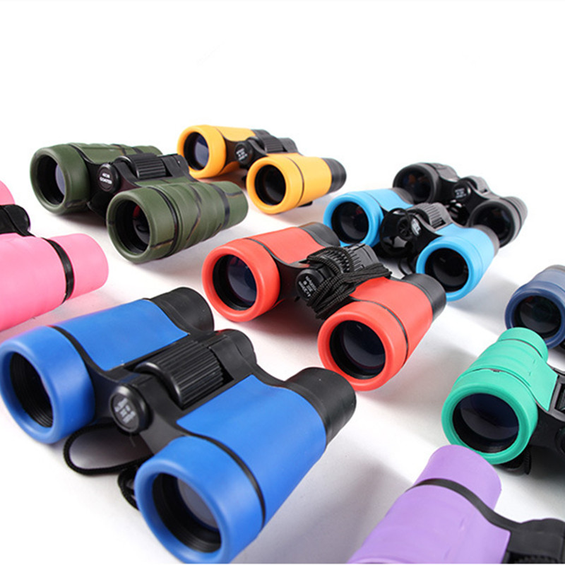 HobbyLane 4x30 Plastic Children Binoculars Telescope Maginification For Kids Outdoor Games Boys Toys Gift