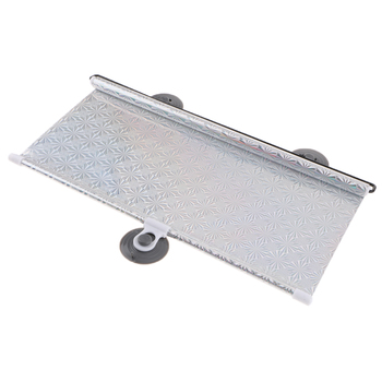 Universal Folding Car Retractable Window Sunshades Curtain Roller 40x60cm image