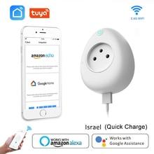 イスラエルスマートusbソケット15A電源監視無線lanプラグボイスコントロールの仕事alexa googleホームチュウヤスマート生活アプリ