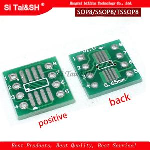 Transfer-Board SOP Pitch-Adapter DIP8 SOP-8 TSSOP8 20PCS To PCB