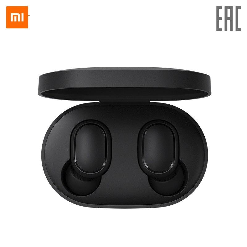 Original  Xiaomi Redmi Airdots earphone Xiaomi TWS Bluetooth Wireless Earphone Stereo Bass with Mic Handsfree Earbuds AI Control|Bluetooth Earphones & Headphones|   - AliExpress