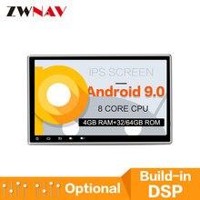 8 ядерный Android 9 32 Гб 10,2 дюймов Автомобильный Радио плеер gps навигация Мультимедиа для Nissan для Toyota большинство 2DIN Радио стерео блок
