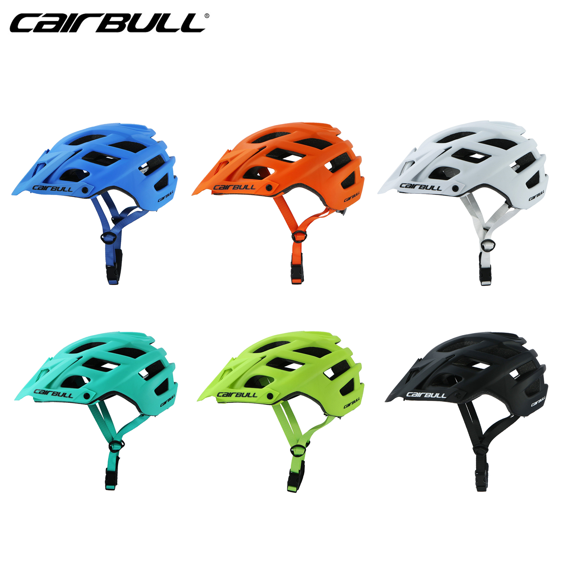 Spor ve Eğlence'ten Bisiklet Kaskı'de 2020 yeni CAIRBULL bisiklet kaskları MTB dağlar yol bisikleti kaskları erkek spor güvenlik Ultralight bisiklet bisiklet kaskları kasko mtb title=