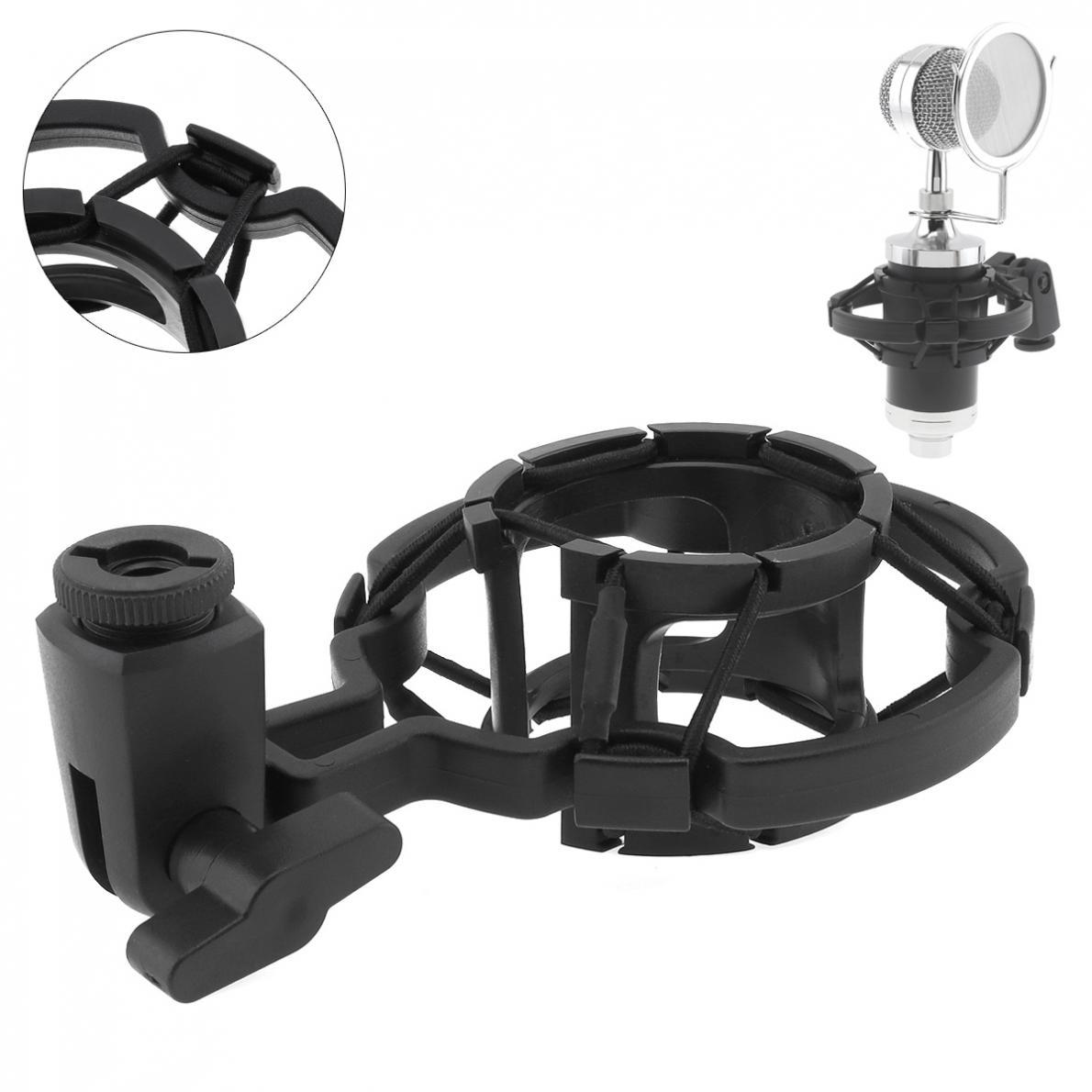 Пластиковый студийный зажим для записи паука, подставка для микрофона, ударное крепление с передачей для компьютера, конденсаторный микроф...