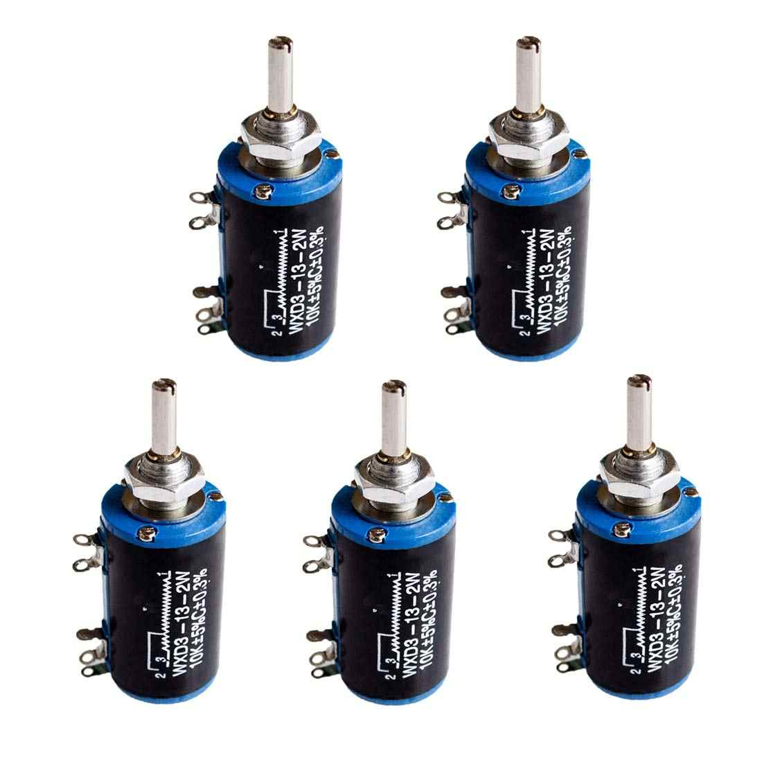 WXD3 13 2W 10K 100/220/470/680 Ом 2 Вт проволочный Многофункциональный потенциометр 1K K 4 7 5 6 8 47