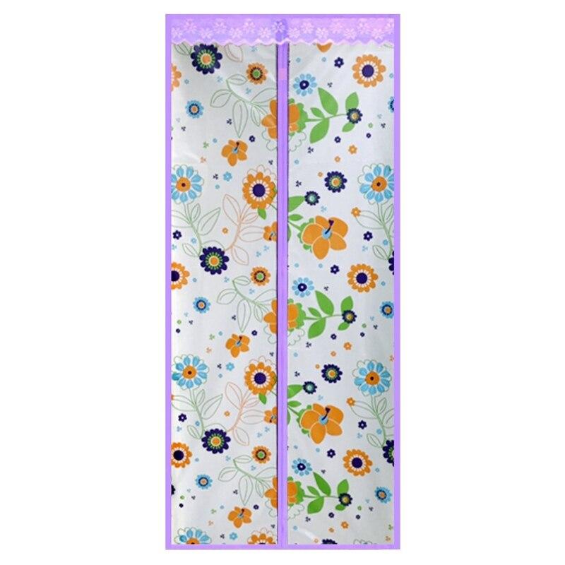 Кондиционер для комнаты/кухни магнитный экран для двери магнитный теплоизолированный сетчатый экран занавес двери - Цвет: D