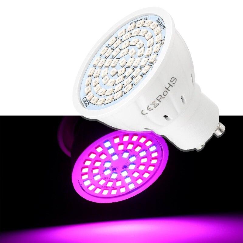 B22/GU10/E27/E14/MR10 48/60 Leds LED Grow Light Hydroponic Grow Light  For Small Planting Box Plant Light
