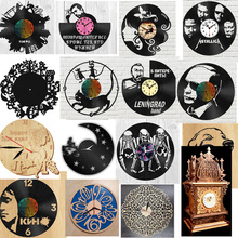 137 pieces pieces of creative clock design vector drawing files for CNC laser cutting files collection cheap
