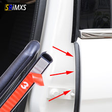 Car Rubber Seal Filler Weatherstrip Car Door Seal strip Noise Insulation For B Pillar Protection Sealant Strip For Auto(China)