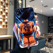 DRAGON BALL Z DBZ Goku Coque Shell Phone Case For iPhone 8 7 6 6S Plus X XS MAX 5 5S SE XR 11 11pro promax Cellphones newest space moon astronaut coque shell phone case for iphone 8 7 6 6s plus x xs max 5 5s se xr 11 11pro promax cellphones