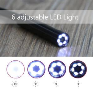Image 2 - USB/Android 2 in 1 kamera endoskopowa 7mm wodoodporna Micro USB Mini kamery z 6 regulowane światło LED dla systemu Android laptopa