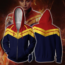 The Superheroes Hoodie Captain Marvel Venom Jacket Spiderman Cosplay 3D Printed Hoodies 4