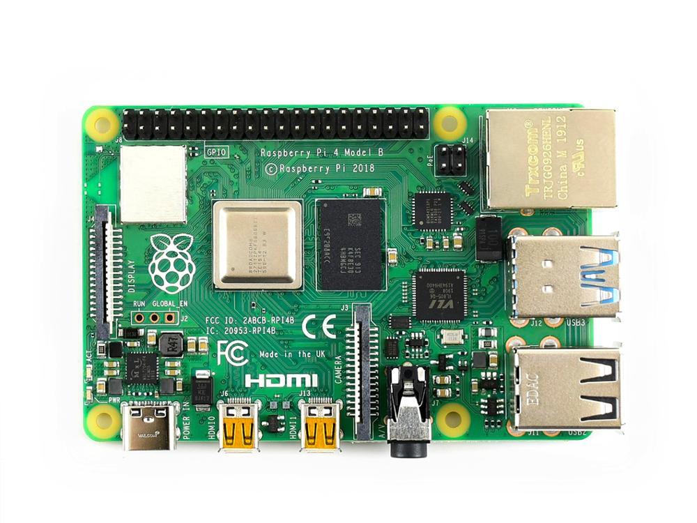 Image 5 - Raspberry Pi 4 Model B 2GB /4GB RAM 64 bit 1.5GHz quad core Gigabit Ethernet Bluetooth 5.0 USB Type C power supply-in Demo Board from Computer & Office
