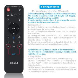 Image 3 - Q9 voz controle remoto 2.4g microfone sem fio bluetooth ir aprendizagem para pc tv projetor android caixa de tv h96 max x96 hk1 mini