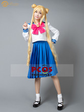 ProCosplay In stock Sailor Moon Crystal 4 Tsukino Usagi Serena school outfit cosplay costume for women mp000139(China)