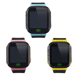 Smart Children Watch GSM GPRS Kids Wrist Watch Y21S 2G GSM Tracker No GPS Module Anti-lost Multi-function Watch Tracker 3 Colors