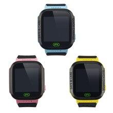 스마트 어린이 시계 gsm gprs 키즈 손목 시계 y21s 2g gsm 트래커 아니 gps 모듈 안티 분실 다기능 시계 추적기 3 색