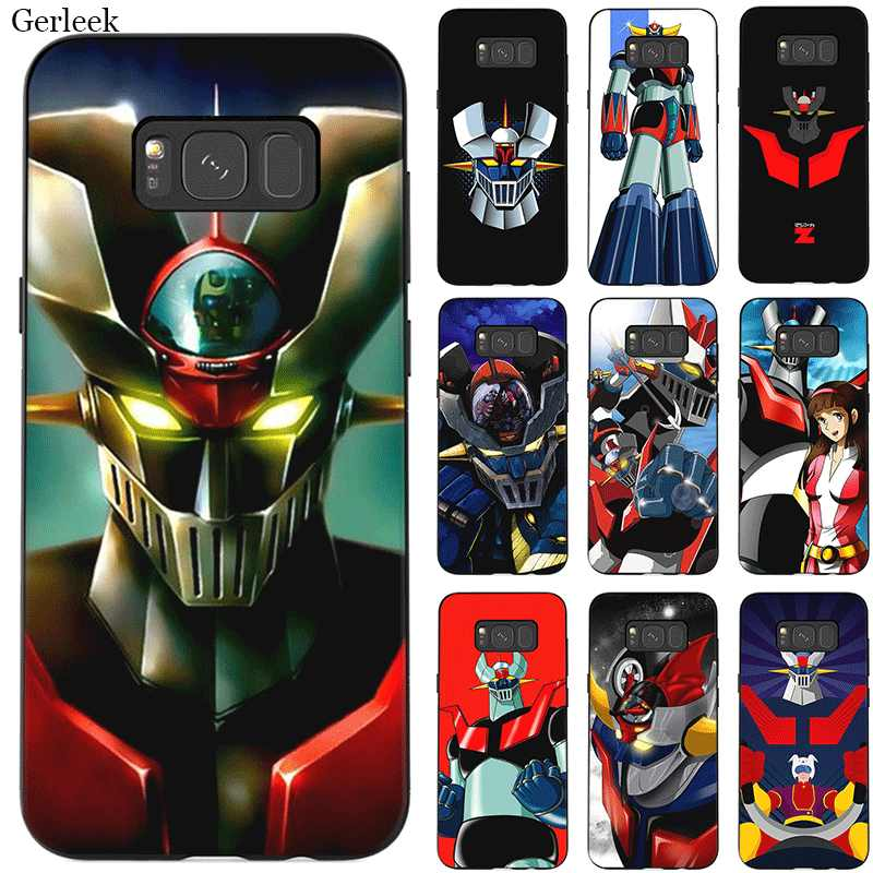 Mobile Phone Case TPU for Samsung Note 10 8 9 S6 S7 Edge S8 S9 S10 S10E Plus Cover Mazinger Z Shell