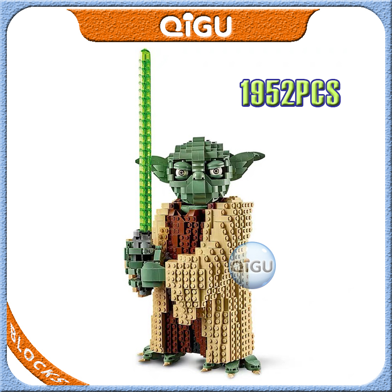 2020 New Pre-sale New  Star Wars Series Yoda Building Blocks Bricks Toys Children's Christmas Gift Compatible 75255