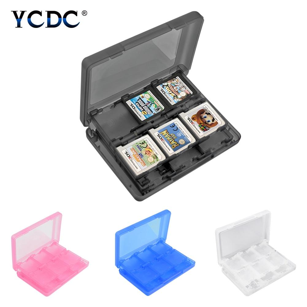 닌텐도 액세서리 28 1 게임 메모리 카드 마이크로 SD 케이스 홀더 닌텐도 DS 3DS NDS NDSi 2DS 스토리지 프로텍터 박스