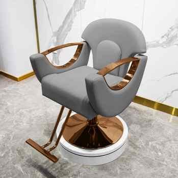 Hot dyeing barber shop chair simple hair cutting chair hair salon special high-end hair cutting barber shop stool