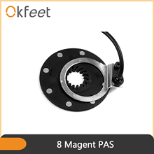 Pas-Sensor Ebike Okfeet Part Conversion-Kit Kunteng for 4-8 Magent Kt-Bz