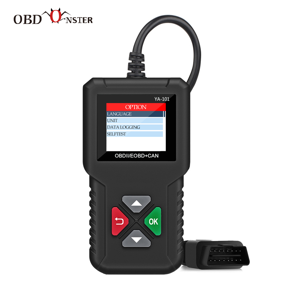 Car Doctor Full OBD2 Scanner YA101 OBDII Engine Error Code Reader Diagnostic Tool Multilingual PK AD310 AL319 CR3001