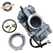 HSR42 HSR45 HSR48 Mikuni 4T Accelerator Motorcycle Carburetor Pump Performance Pumper Carburador Carb For Harley TM42 TM45 TM48 недорого