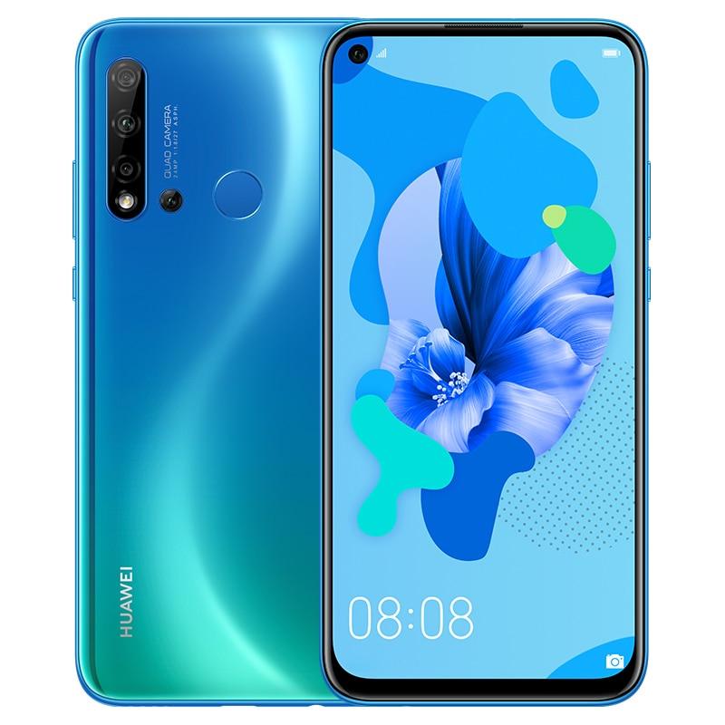 "Original HuaWei Nova 5i Mobile Phone 4G LTE Mobile Phone Kirin 710 8G 128G Android 9.0 6.4"" IPS 2310X1080 24MP Camera Phones"