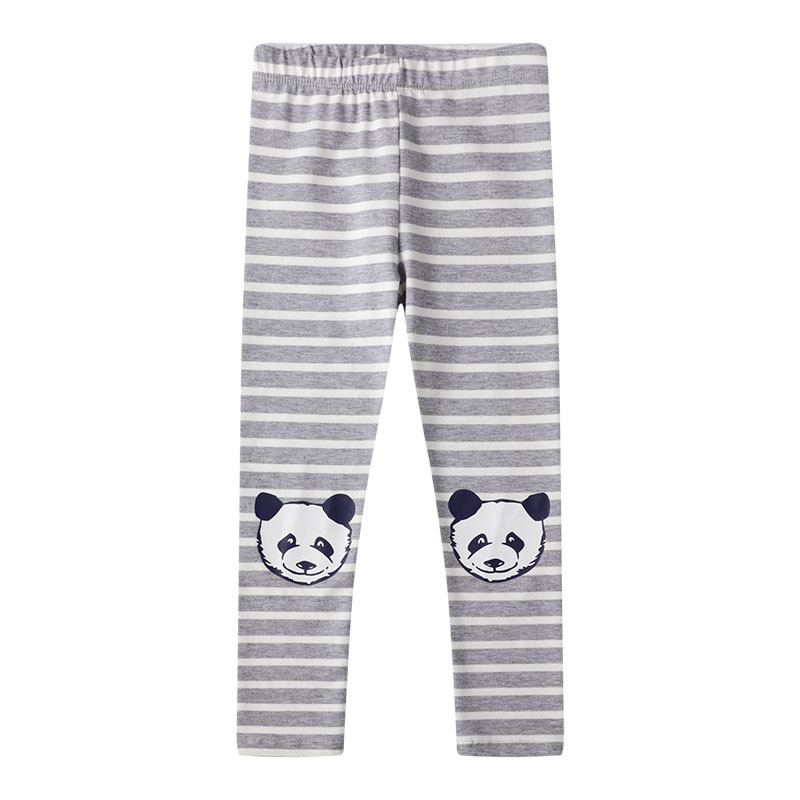 VIDMID 2-7 years girls cartoon striped pants kids baby cotton clothes children floral pants  baby trousers girls trousers W01 2