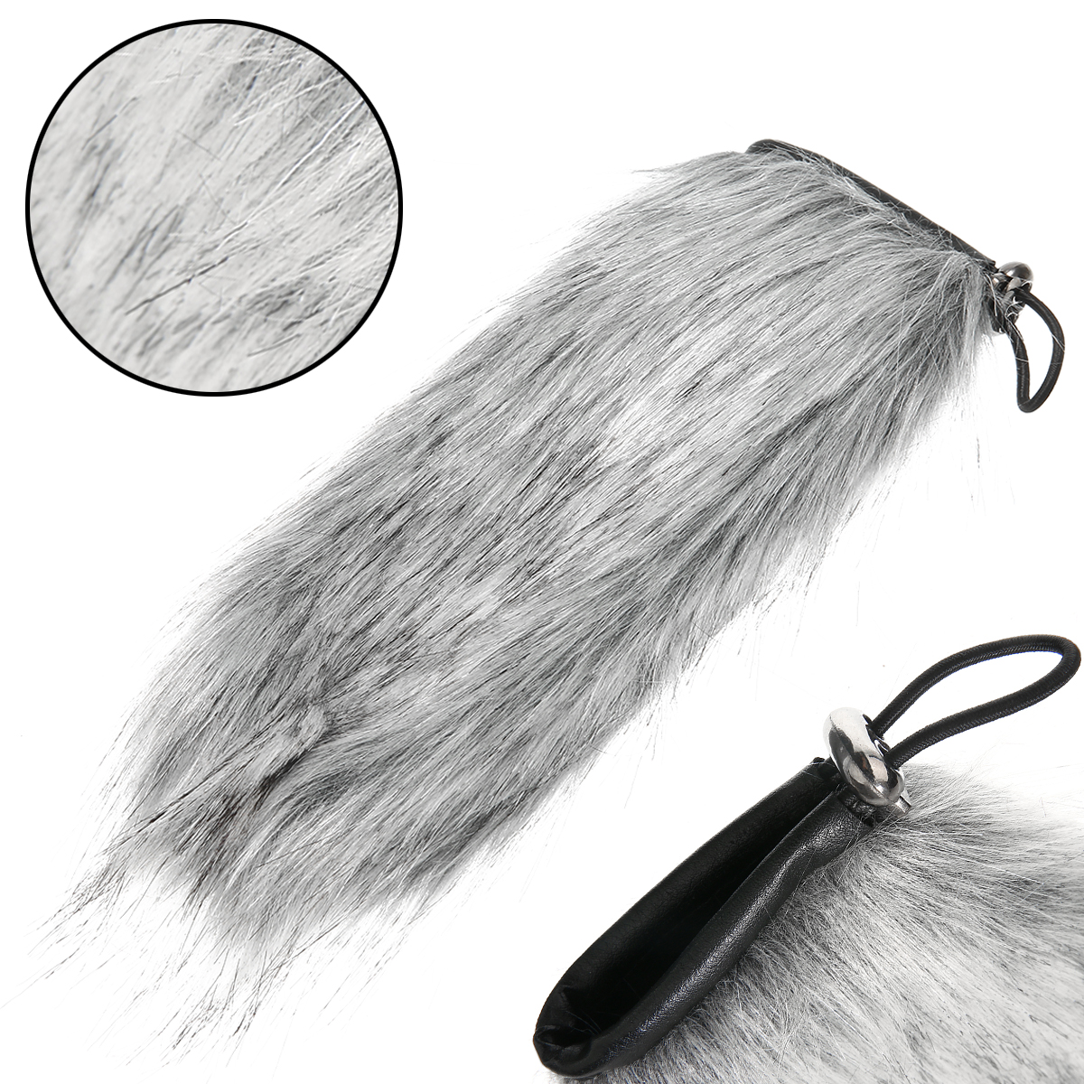 22cm Universal Outdoor Microphone Furry Windscreen Fur Windshield Wind Muff Cover For Audio Microphone