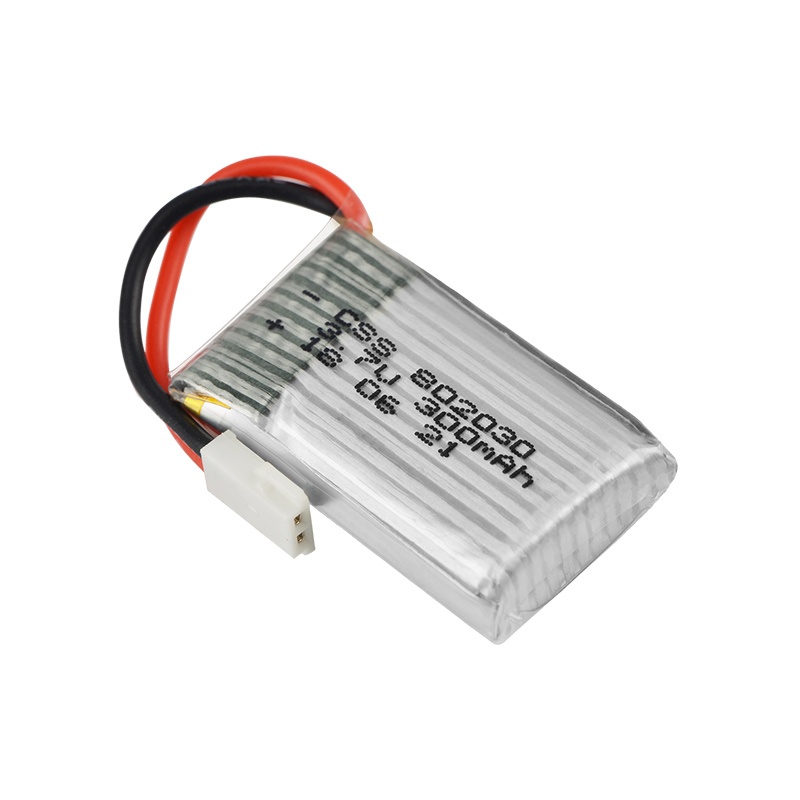 <font><b>3.7V</b></font> <font><b>300mAh</b></font> 25C <font><b>LiPo</b></font> <font><b>Battery</b></font> With balance Charger 802030 For UDI U816 U830 FEIYU FY530 image