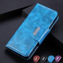 6 отделений для карт бумажник флип кожаный чехол для Wiko Sunny 4 Plus Y80 Y70 760 Jerry 4 Стенд магнитное закрытие удостоверения кредитные карты карман