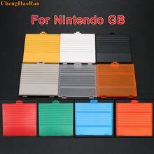 Gameboy-cubierta de batería para consola GB, tapa de batería de repuesto clásica, gris, negro, blanco amarillo anaranjado, 10 colores, 1 ud.