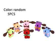 Unique Lovely Cute Dog Shape Microfiber Cotton Towel Special Washcloth Wedding Persent Birthday Gifts Random Color