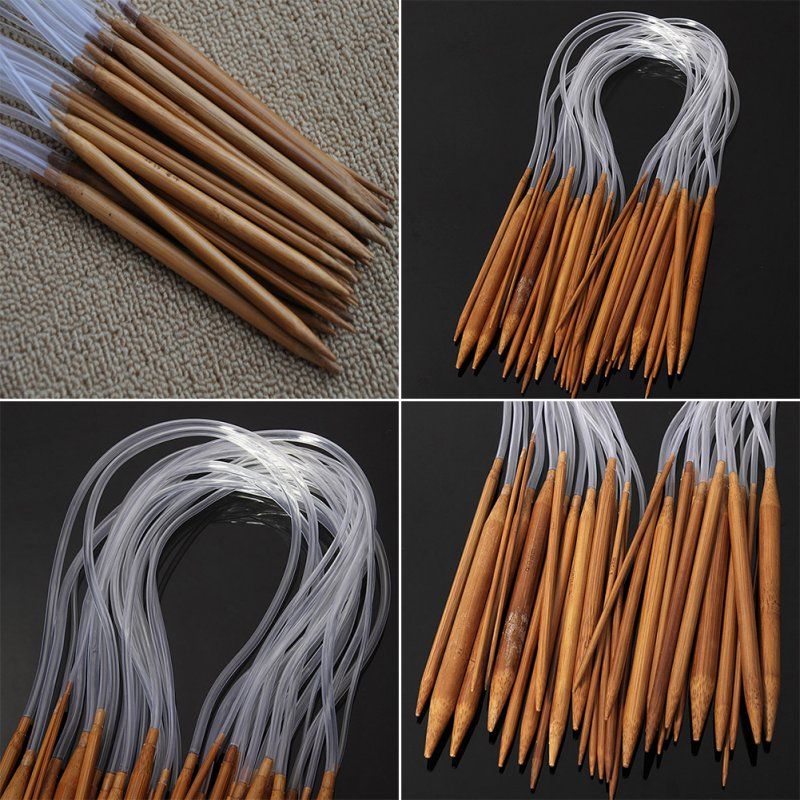 80 cm Smooth Bamboo Circular Knitting Needles Double Pointed