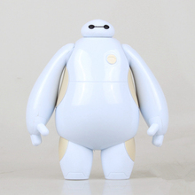 Baymax Big Hero 6 Arm can be rotated Model Toy Car Decoration Collectible Action Figure