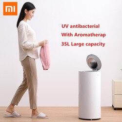 Xiaomi Smart 35L gran capacidad lavandería secadora desinfectante 650W esterilización eléctrica secado zapato secador de ropa esterilización UV